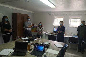 Visita das entidades autárquicas à equipa CLDS 4G Aveiro